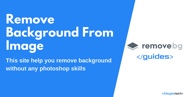 Remove Background From Image