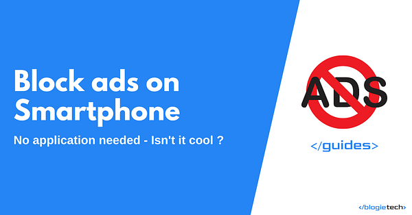 Block Ads On Smartphone Without Application